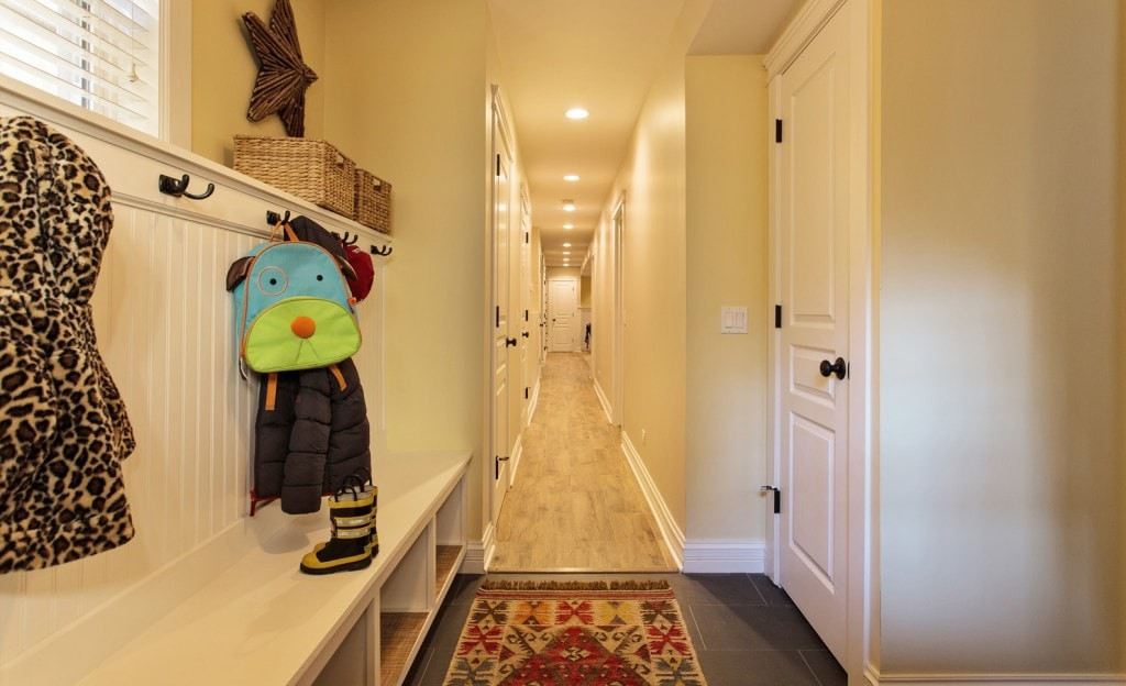Lower Level Mudroom
