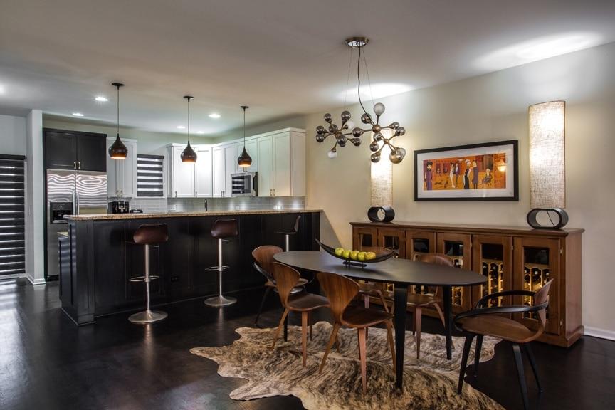 Evanston Interior Design Project Dining Room Remodel