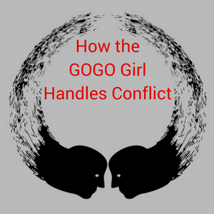 how the gogo girl handles conflict