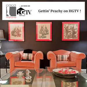 Peach project on HGTV