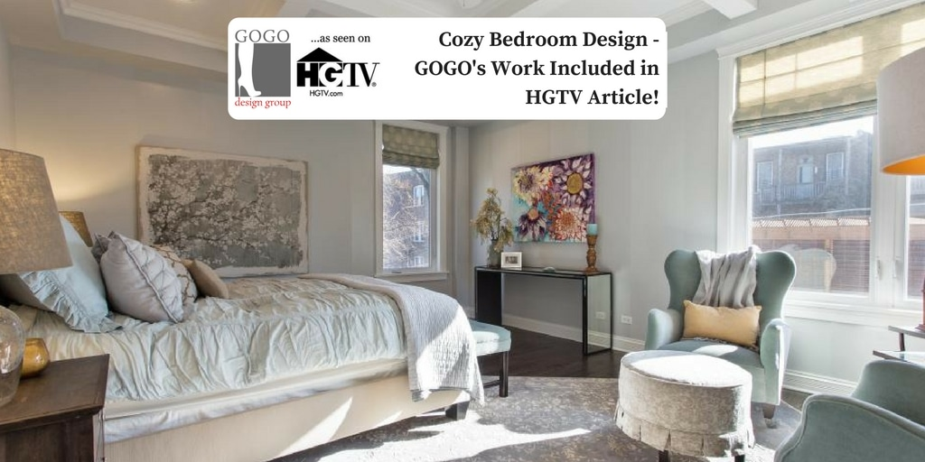 Cozy Bedroom Design   GOGOu0027s Work Included In HGTV Article! · GOGO Design  Group