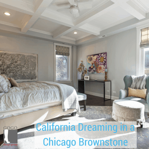modern rustic vintage interior design style for chicago brownstone