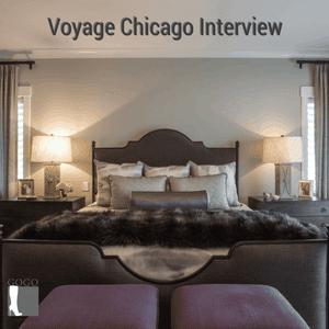 Master bedroom by Rebecca Pogonitz