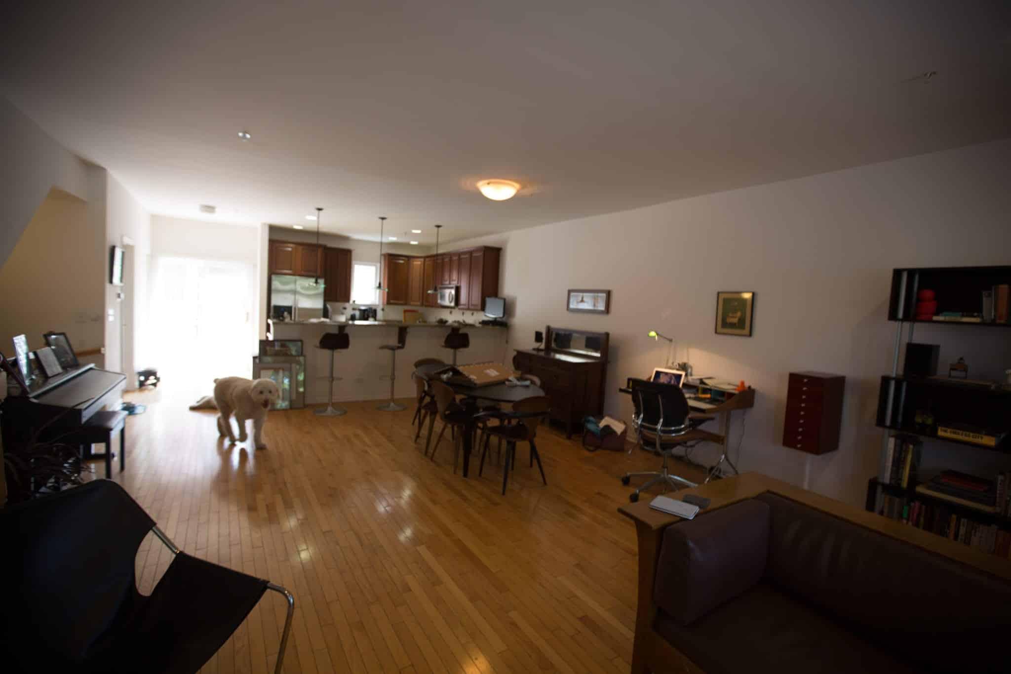 Evanston Interior Design Project, Before