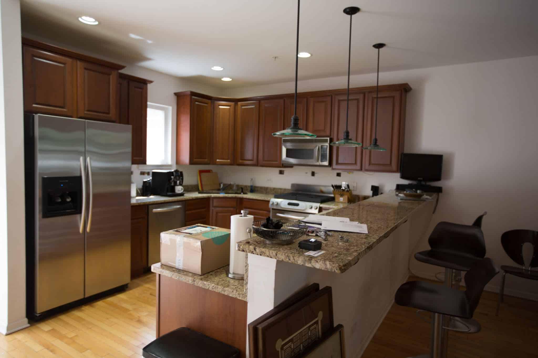 Great Evanston Interior Design, Kitchen Before